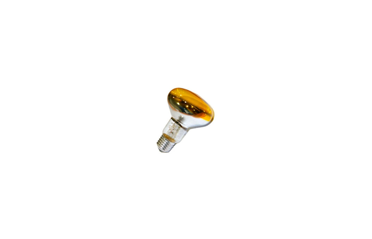 Lâmpada incandescente R63 amarela E27 60W
