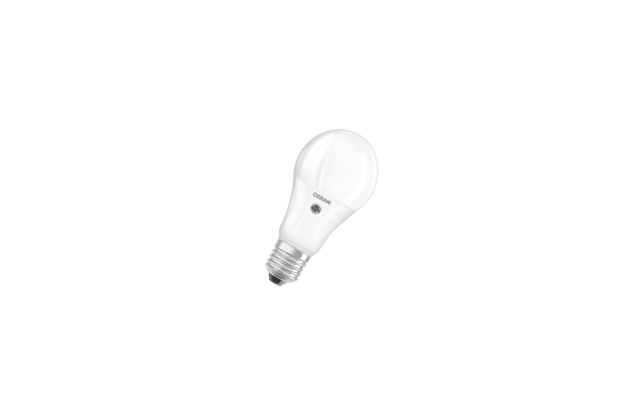 Lâmpada Parathom LED Advanced Classic A60 E27 9,5W 2700K (com sensor crepuscular)