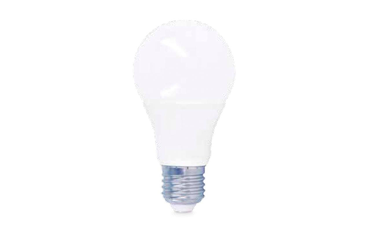 Lâmpada LED A60 E27 10W 24V 3000K (branco quente)