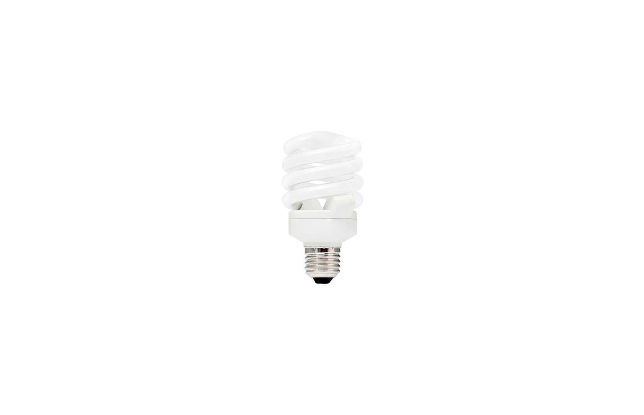 Lâmpada fluorescente espiral ECO E27 7W