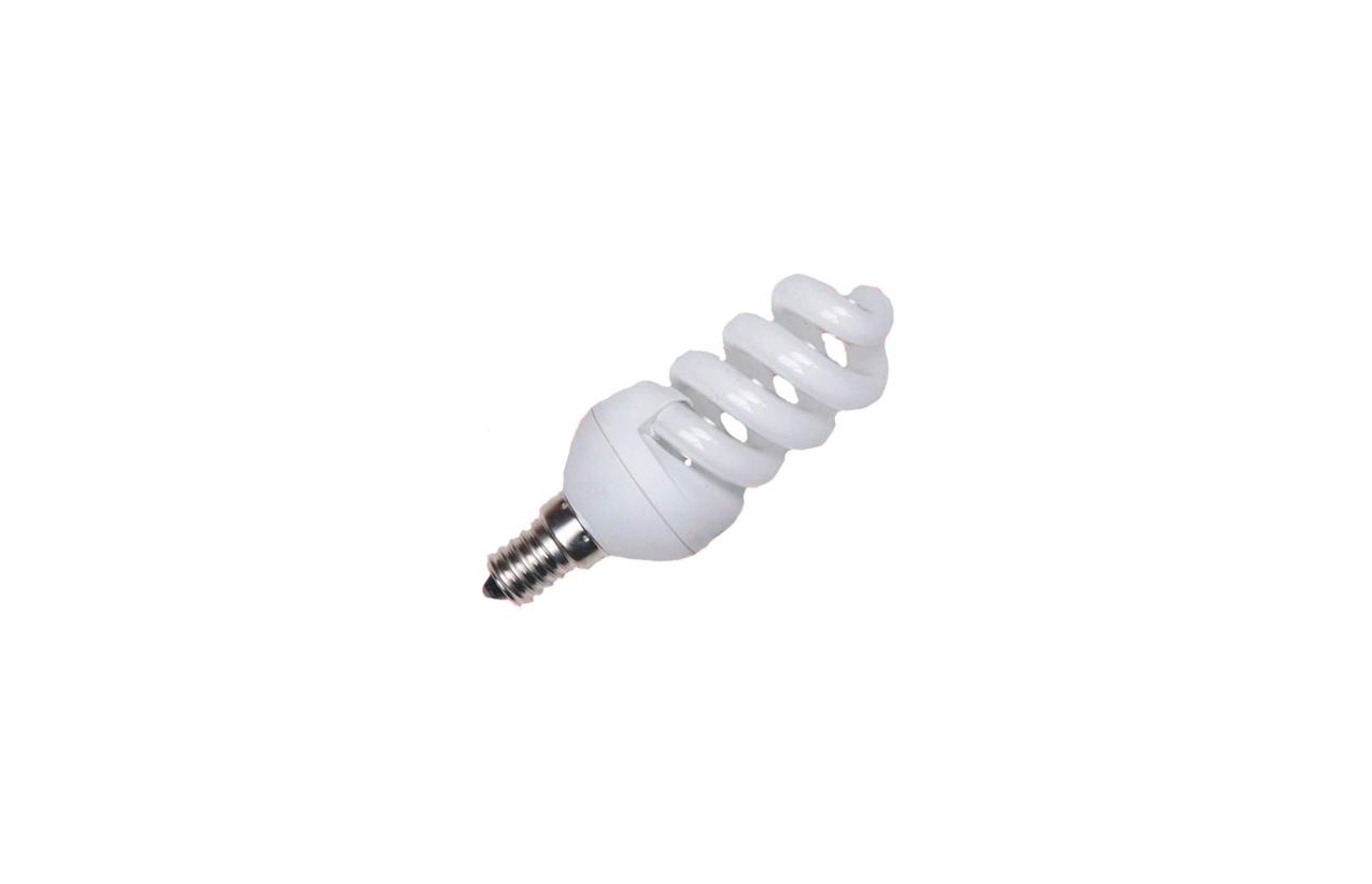 Lâmpada fluorescente espiral ECO E14 20W
