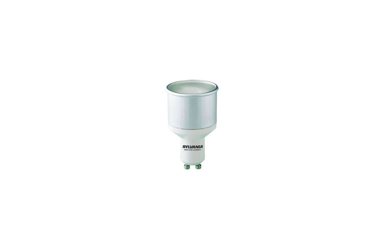 Lâmpada fluorescente ECO GU10 11W
