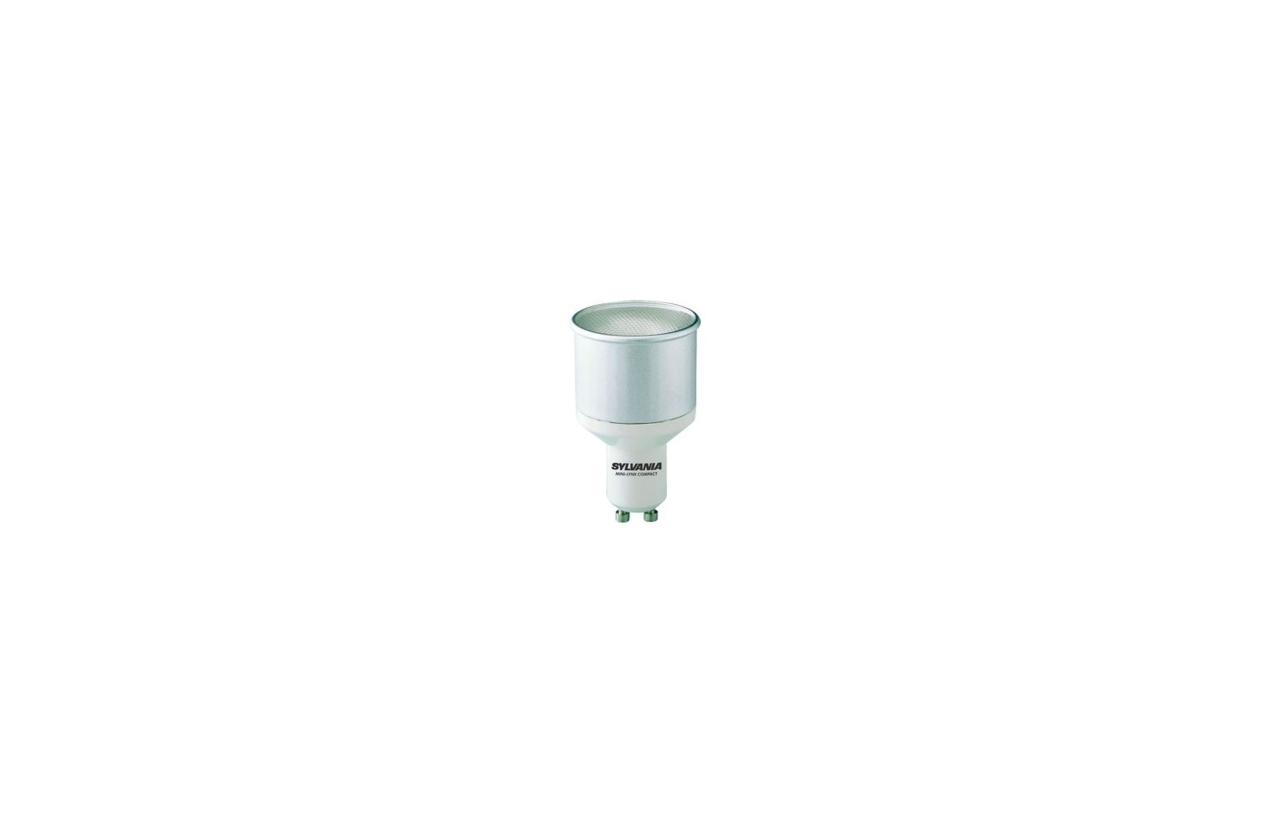 Lâmpada fluorescente ECO GU10 11W 4000K