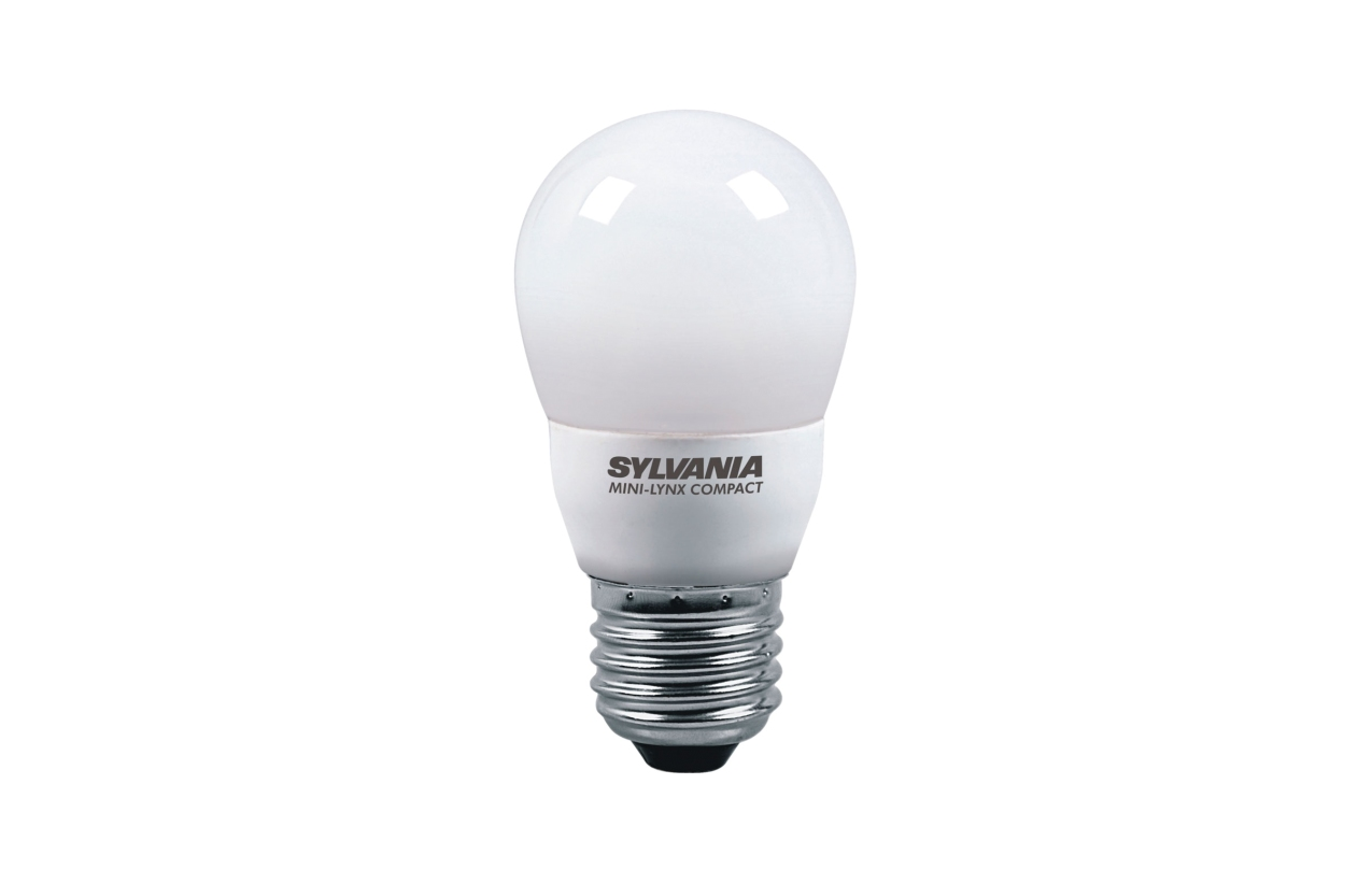 Lâmpada fluorescente esférica ECO E27 9W