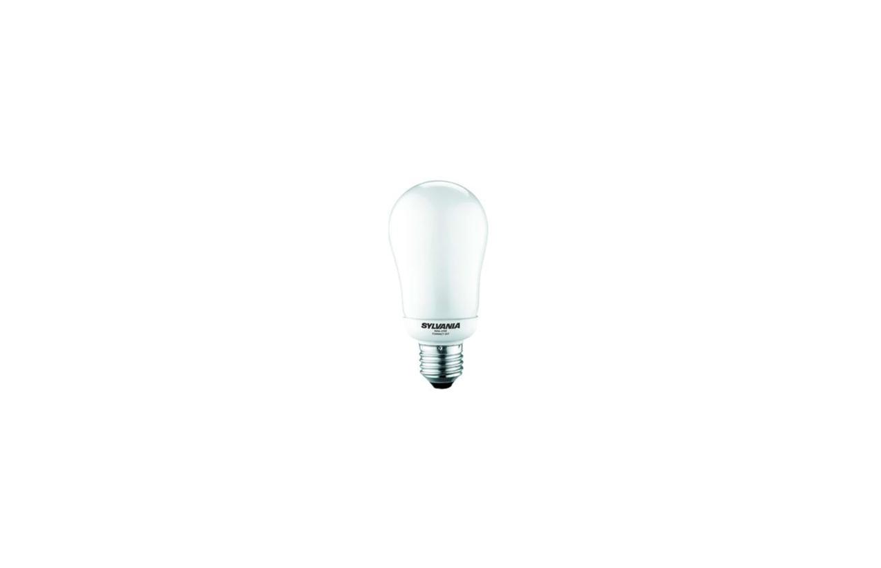 Lâmpada fluorescente A60 ECO E27 15W
