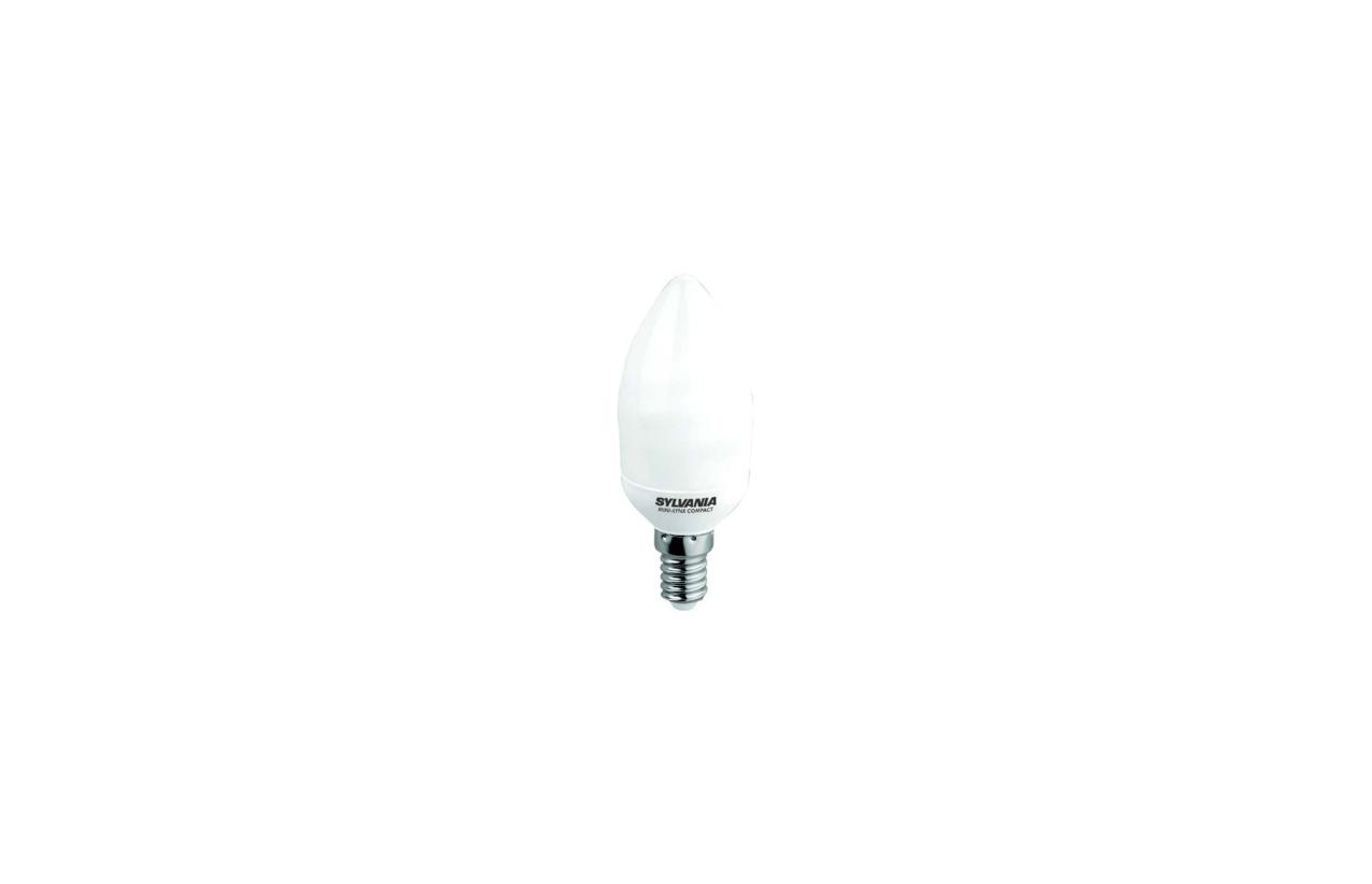 Lâmpada fluorescente ECO chama E14 5W 4000K