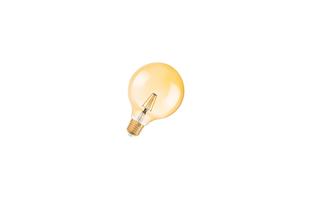 Lâmpada Vintage 1906 LED Globo E27 7,5W 2500K dimável