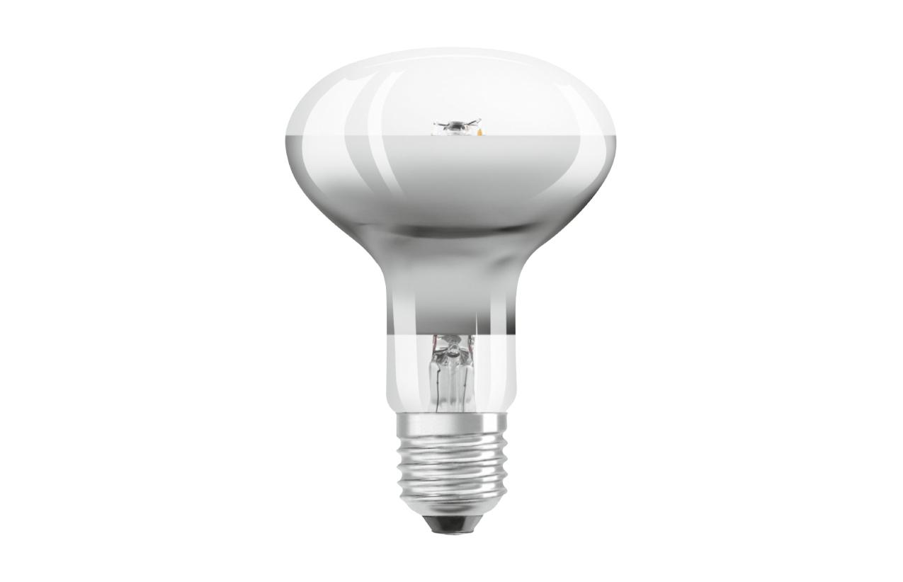 Lâmpada Parathom LED Retrofit R80 E27 7W 2700K