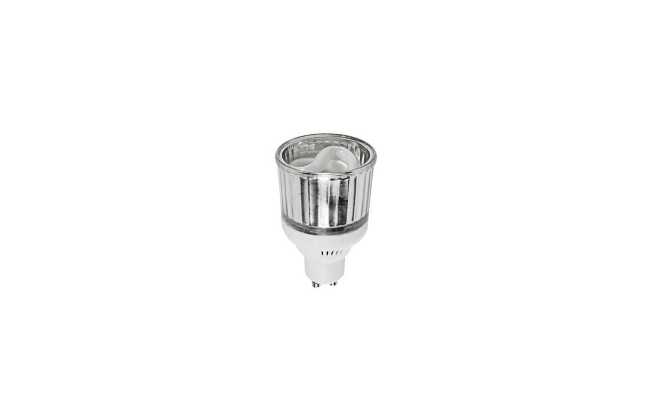 Lâmpada fluorescente ECO GU10 9W 2700K