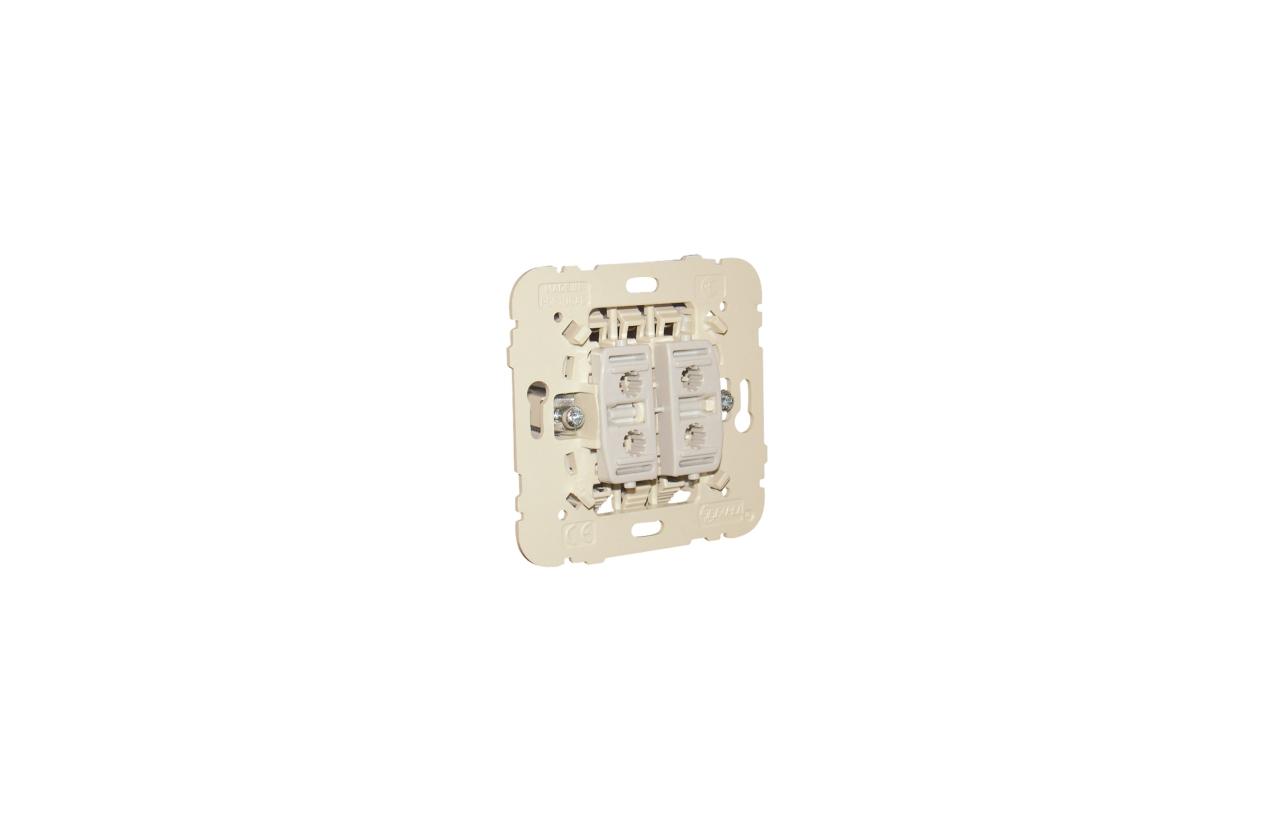 Botão duplo de persiana Mec21 21281