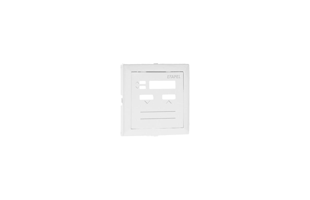 Centro branco para comando local de persiana com sensor IR 90312TBR