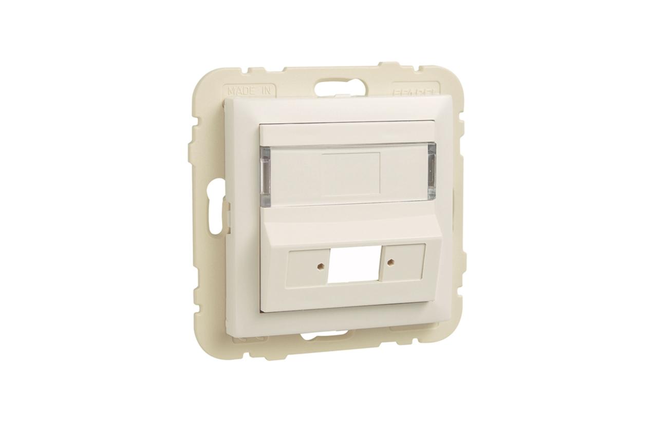 Centro para acoplador para conetores de fibra ótica SC APC Simplex / LC Duplex 90449SBR