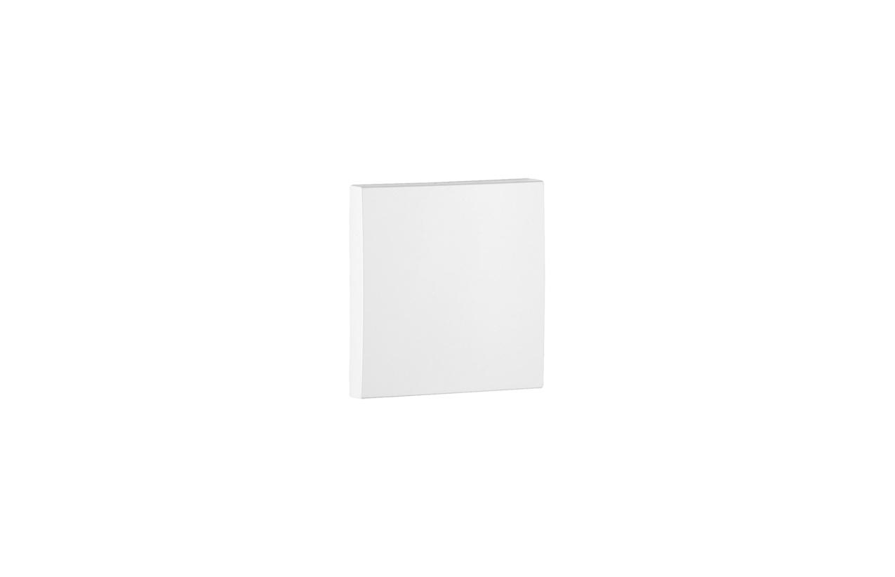 Tecla simples branca Logus 90 90601 T BR