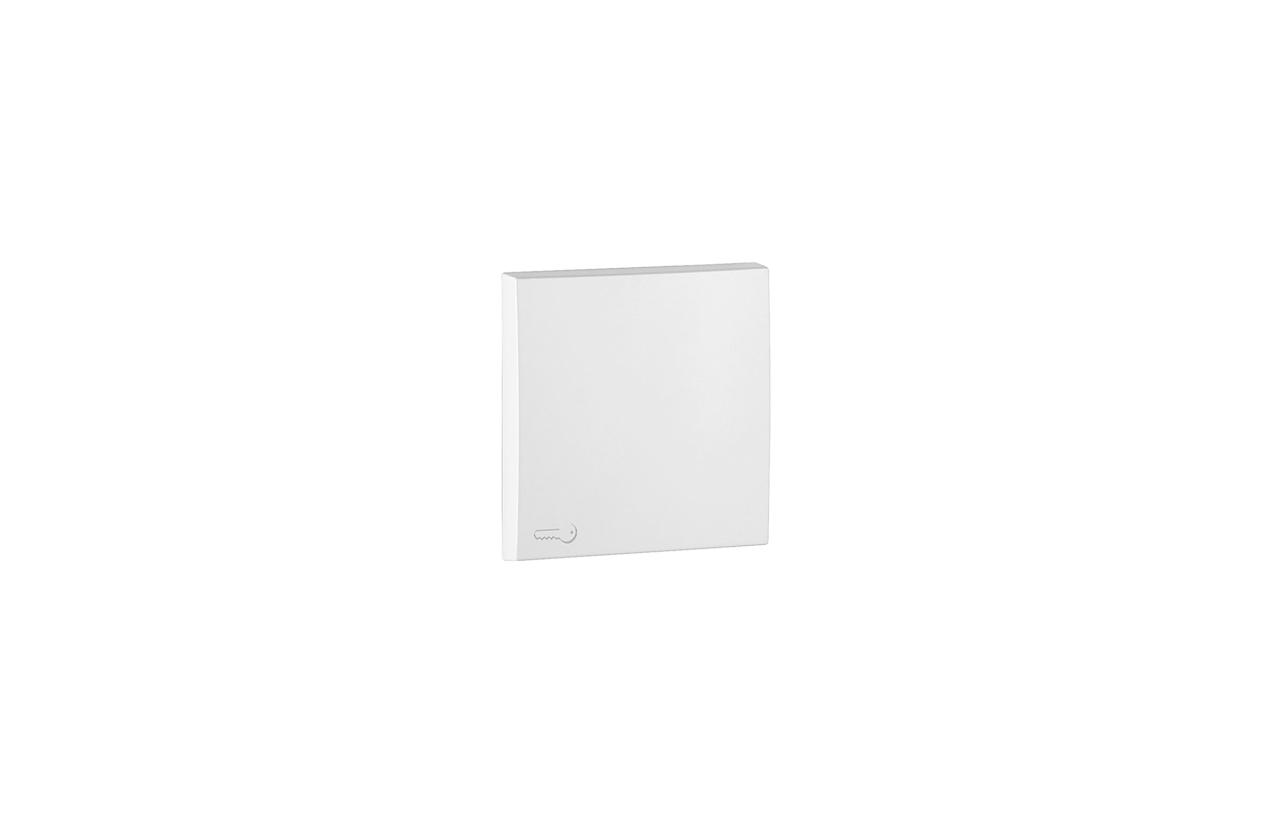 Tecla branca com símbolo trinco 90604TBR