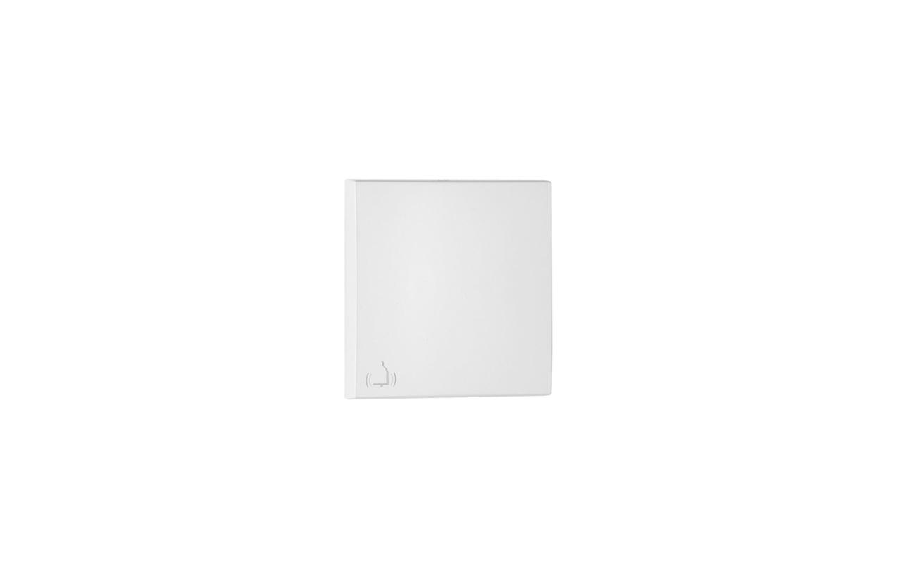 Tecla branca com símbolo campainha 90605TBR