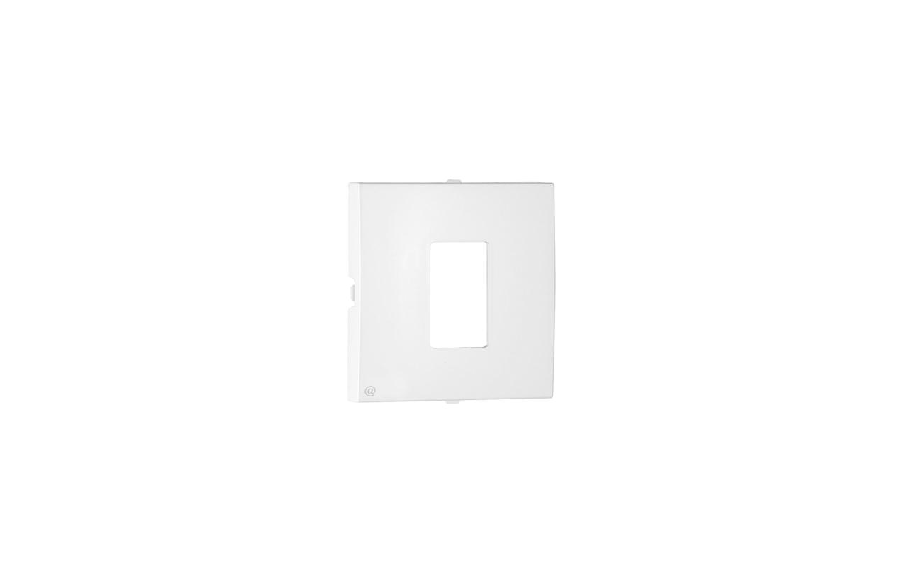 Centro branco para tomada RJ45 Cat. 6 UTP Logus90 90751 T BR