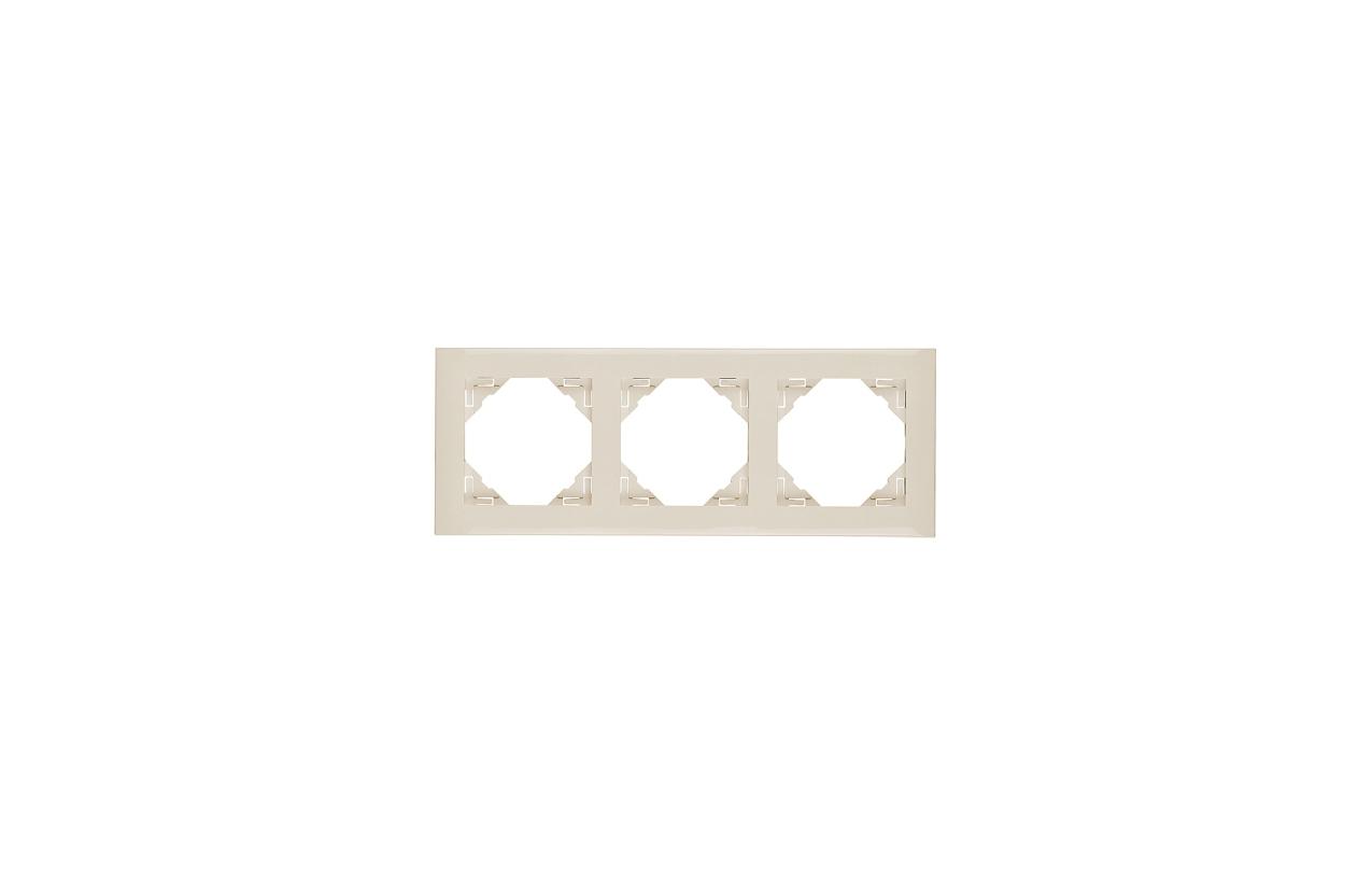 Espelho triplo marfim Logus90 90930 T MF
