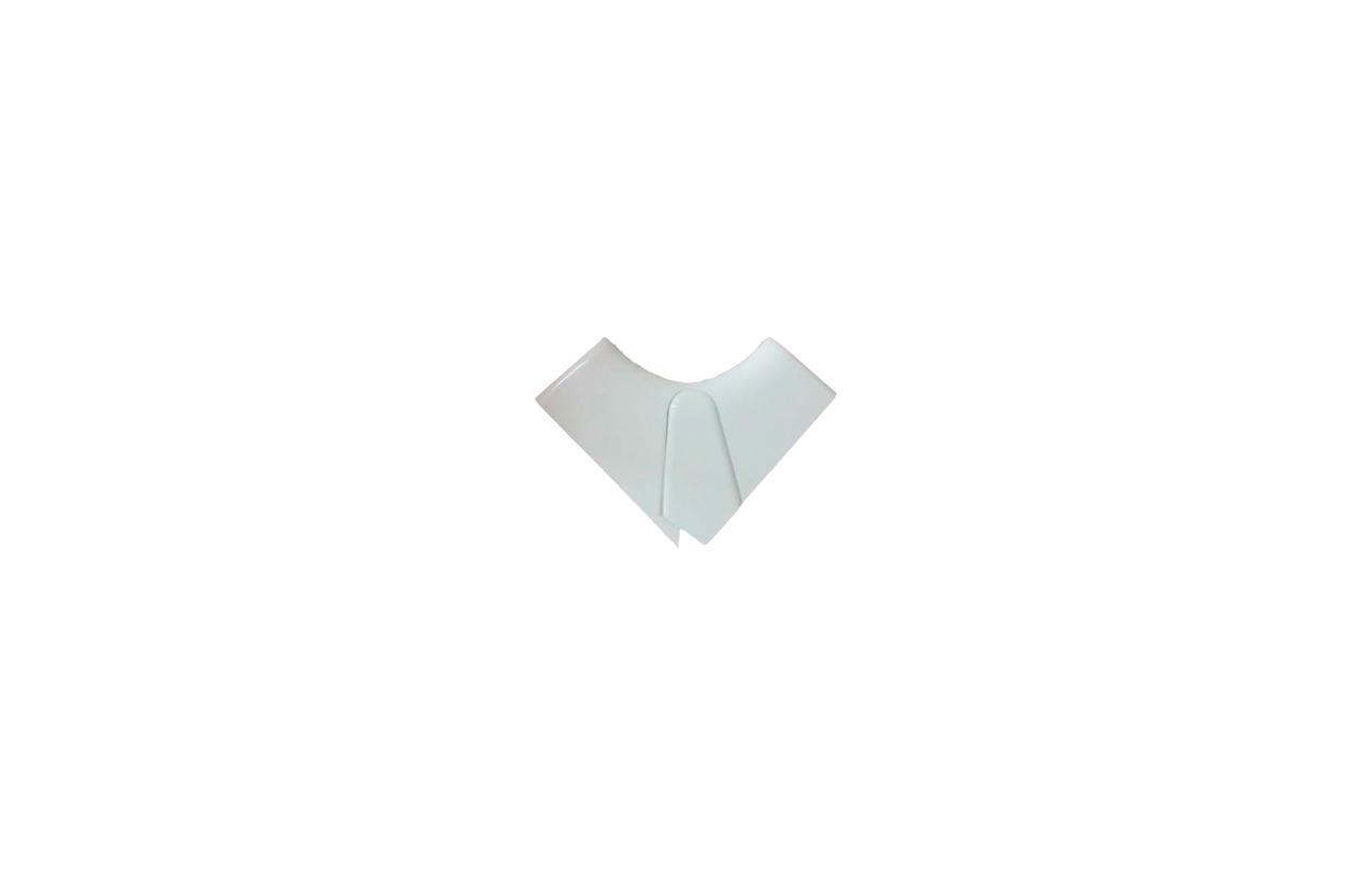 Ângulo interior variável para calha DLP monobloco 105x50mm 016002