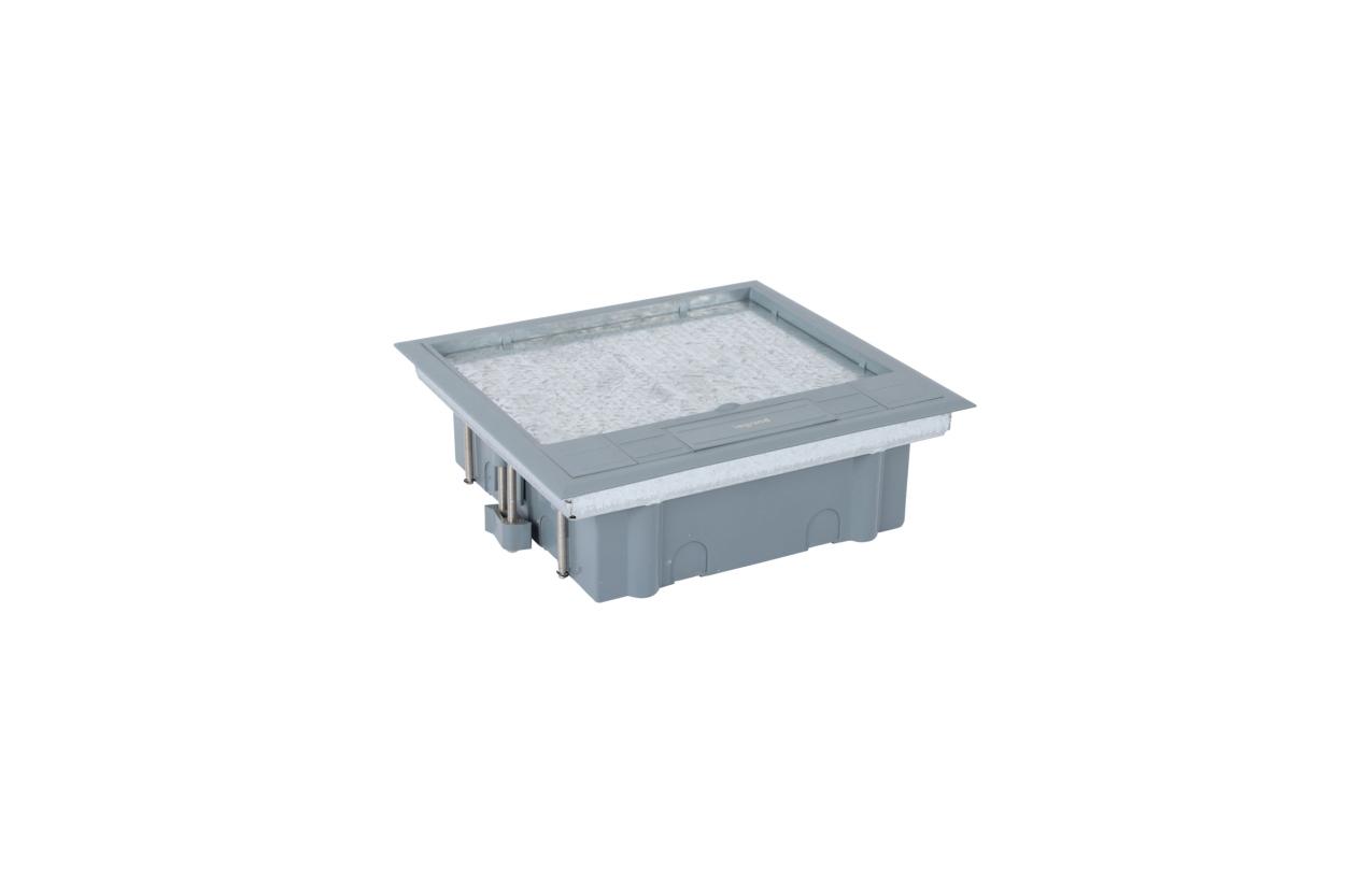 Caixa de chão Access (12 módulos horizontais)