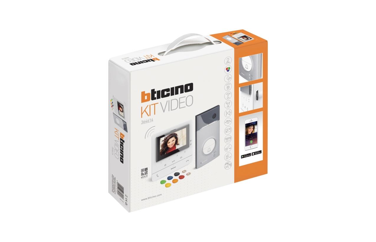 Kit vídeo WIFI Bticino Classe 100X16E 364614