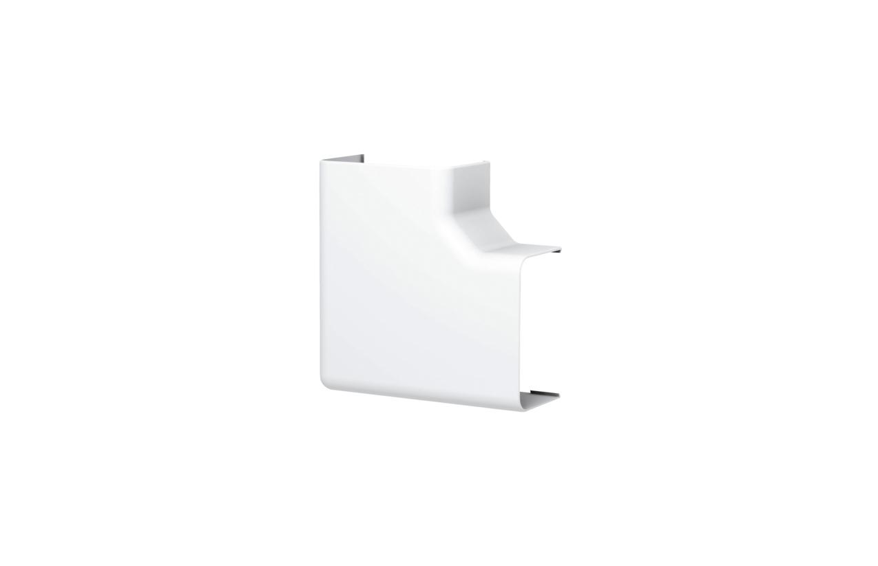 Ângulo plano para calha climatização 40x70mm 611264