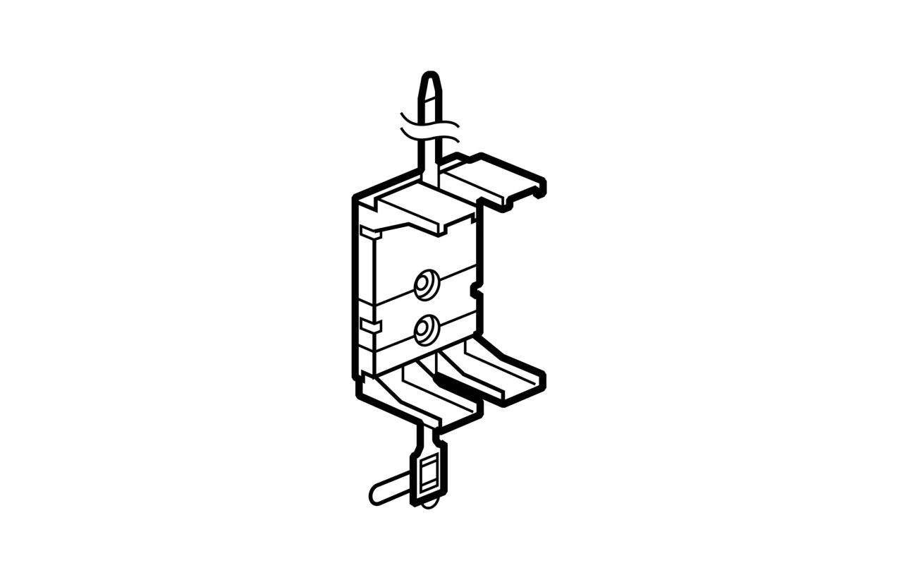 Abraçadeira extensível para calha DLP climatização 611380