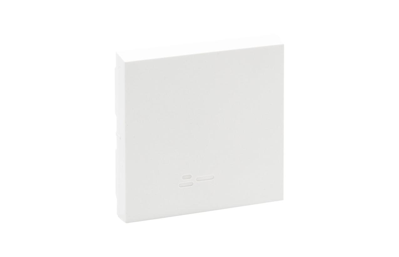 Tecla branca simples para luminosos Niloé Step 864106