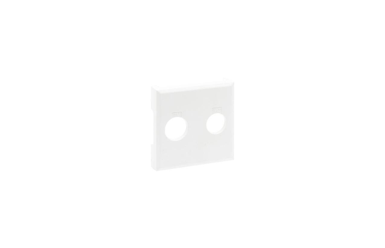 Centro branco Niloé Step para tomada estrela TV-SAT 8 641 54