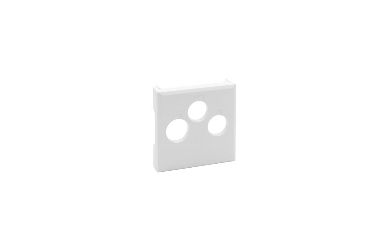 Centro branco Niloé Step para tomada TV-R-SAT 8 641 57