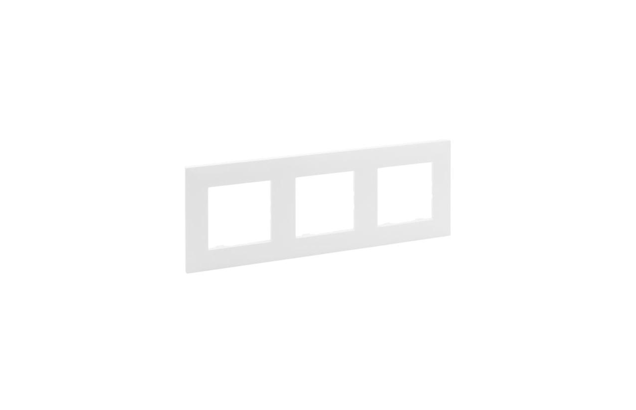 Espelho triplo branco Niloé Step 864173