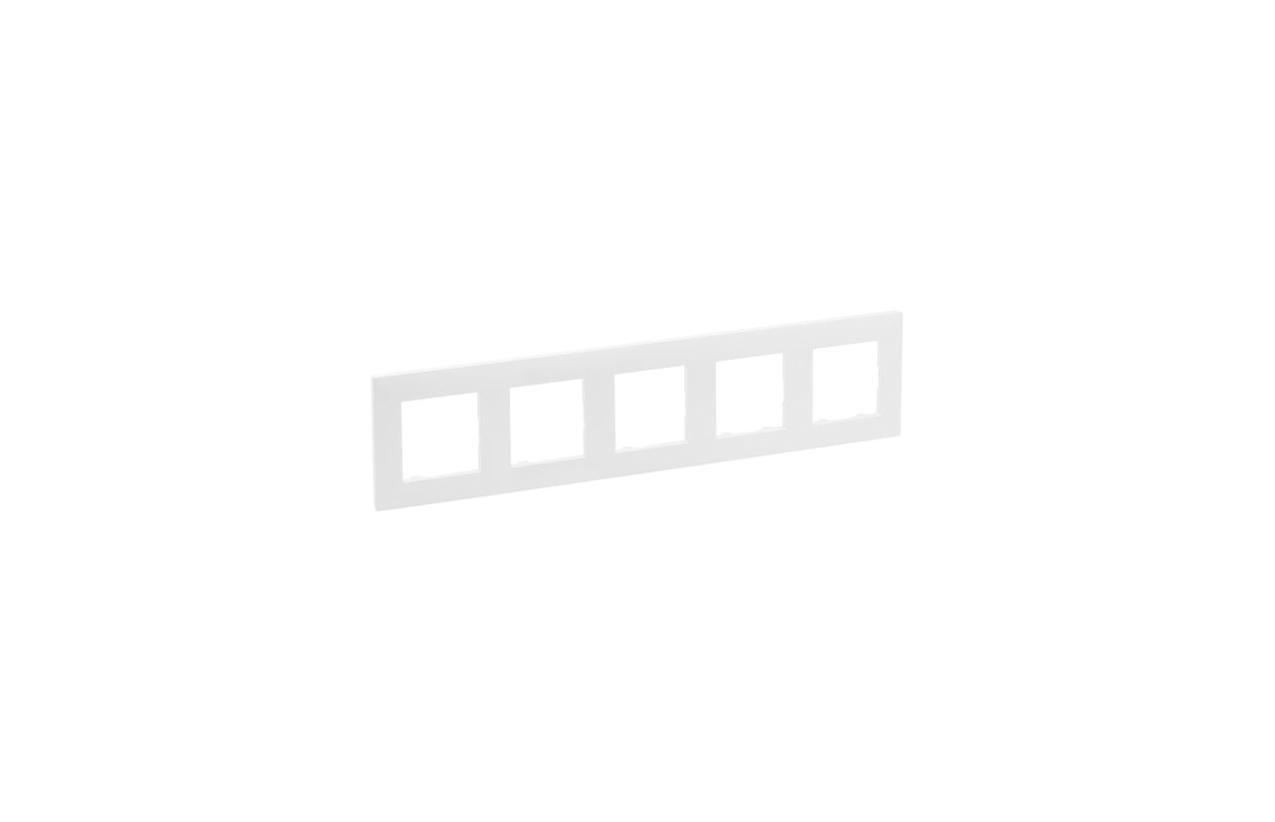 Espelho quiítuplo branco Niloé Step 864175