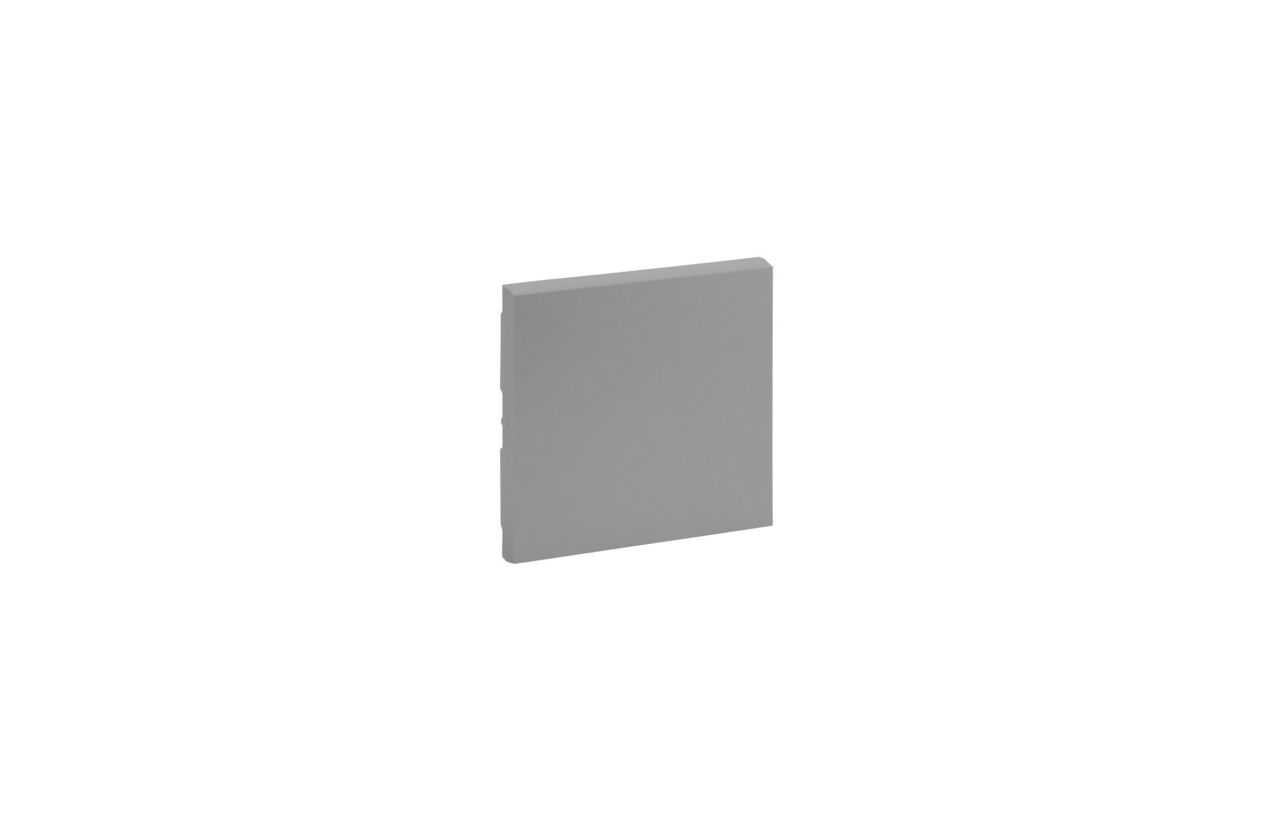 Tecla cor alumínio para inversor Niloé Step 864307