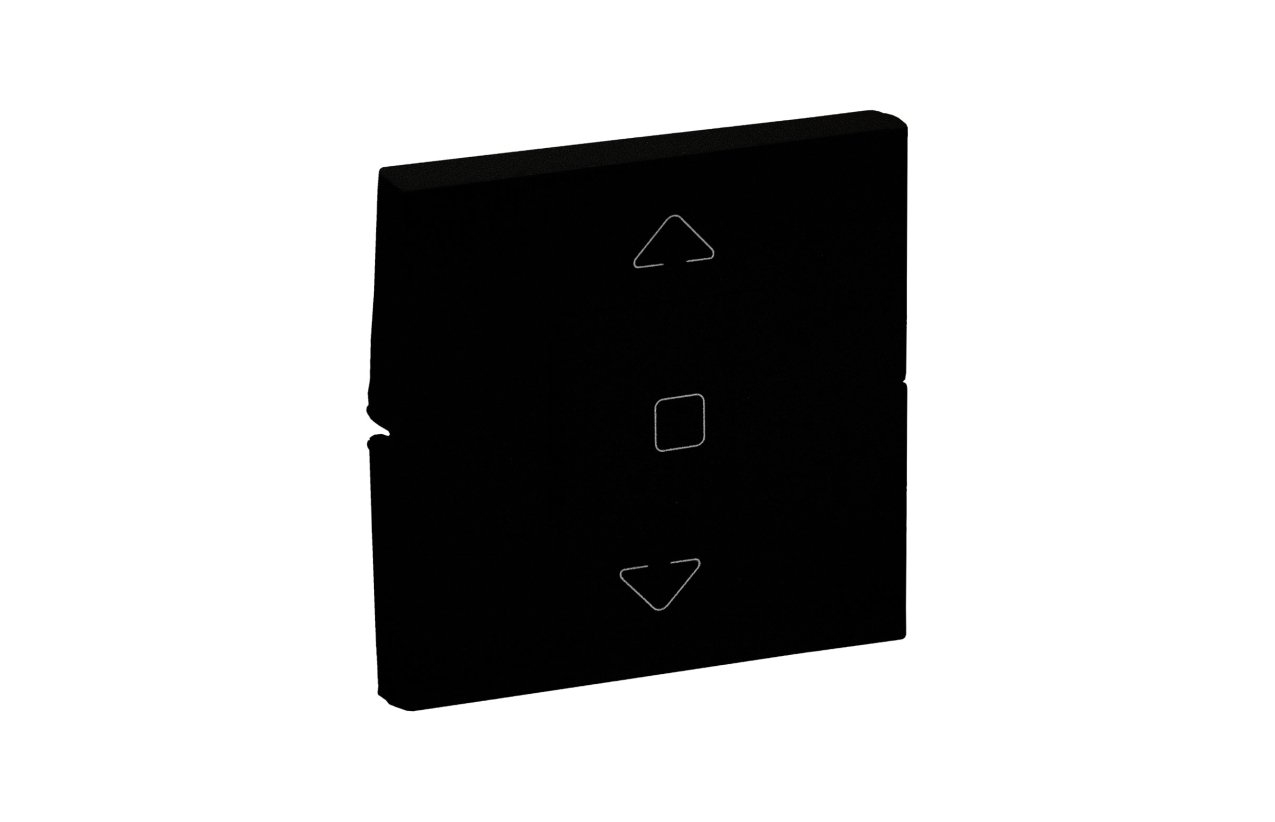 Teclas pretas para interruptor de estores Niloé Step 864531