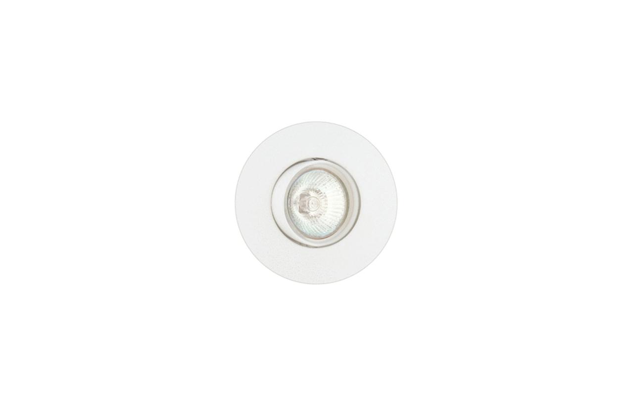 Projetor encastrar redondo 50W branco 639D-00
