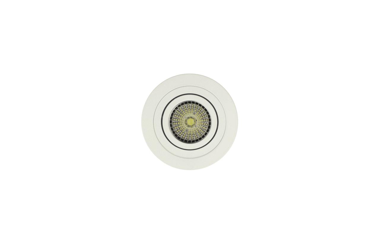 Projetor encastrar redondo 50W branco 703D-90