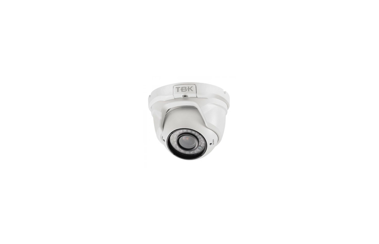 Câmara de teto 4 em 1 IP65 com zoom ajustável TBK 344201001