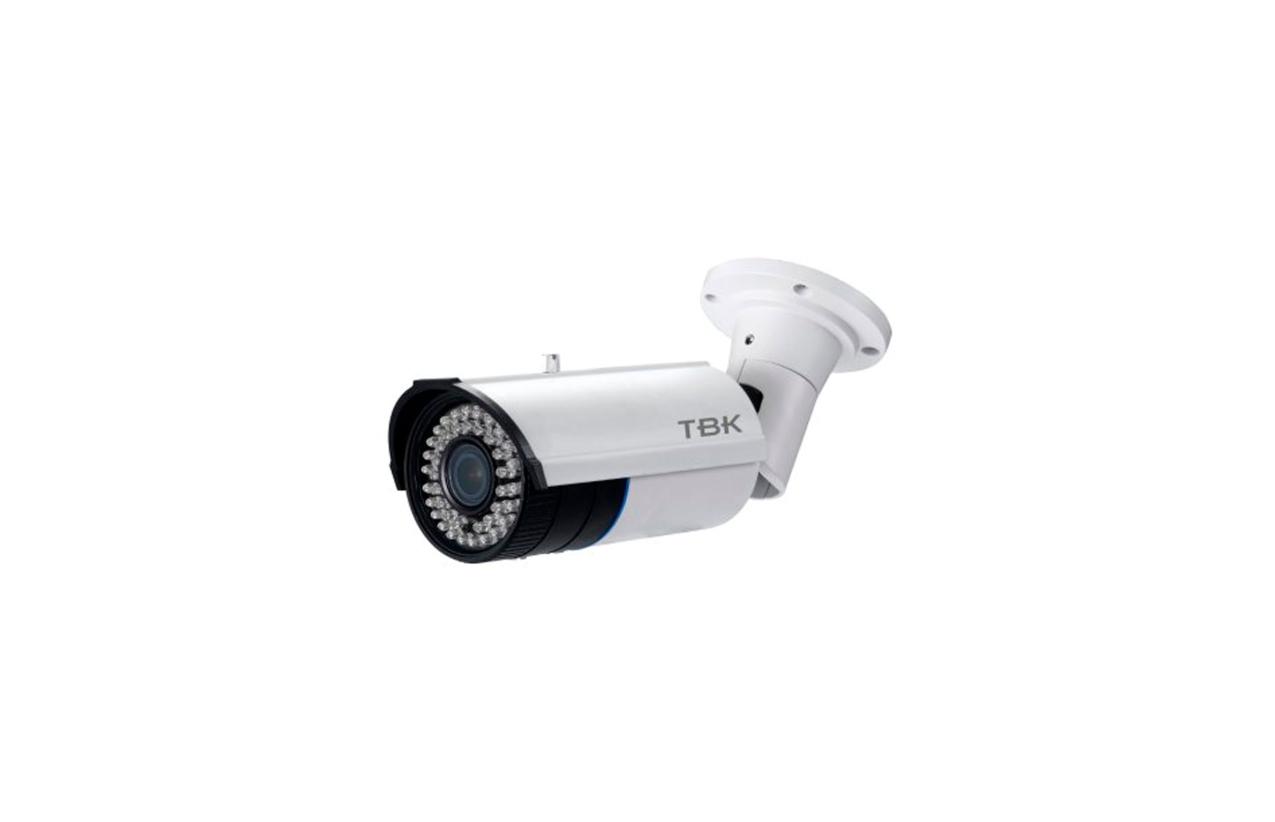 Câmara de parede 4 em 1 IP66 com zoom ajustável TBK 344201016