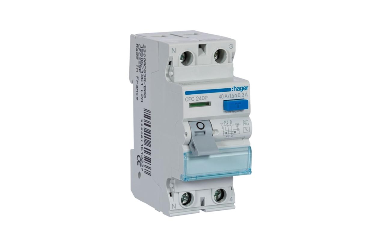 Interruptor diferencial 2P 40A 30MA CFC240P