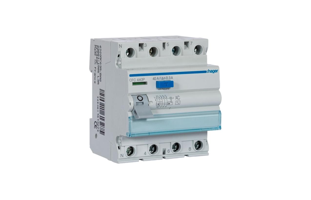 Interruptor diferencial 4P 40A 30MA CFC440P