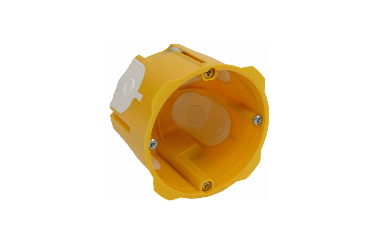 Caixa de aparelhagem funda 60mm com entradas flexíveis KPRL 64-60/LD