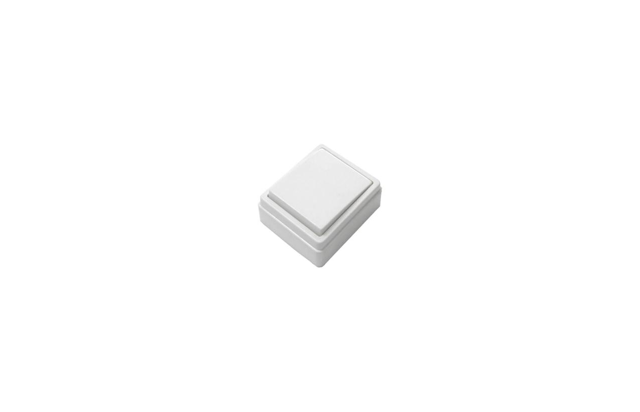 Interruptor simples quadrado saliente 10/16A - 250V