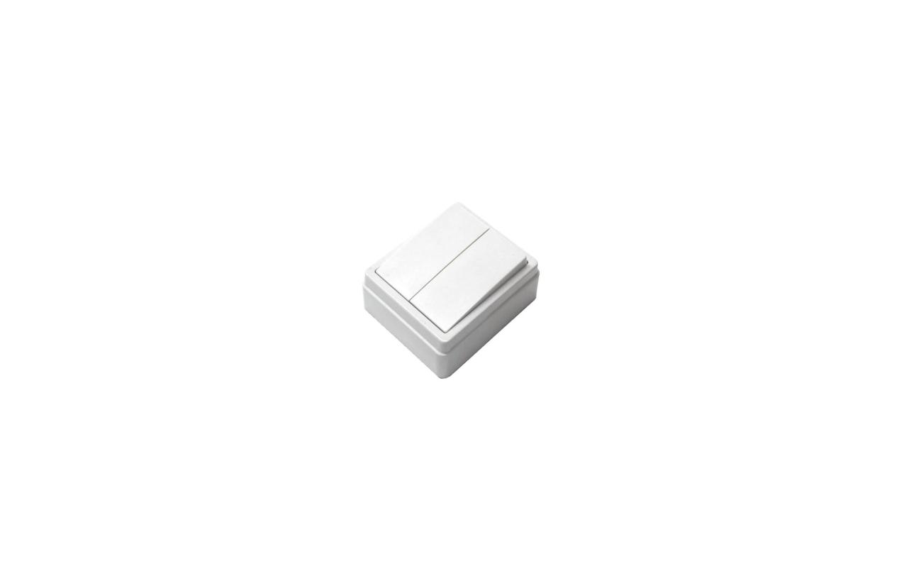 Comutador de lustre quadrado saliente 10/16A - 250V