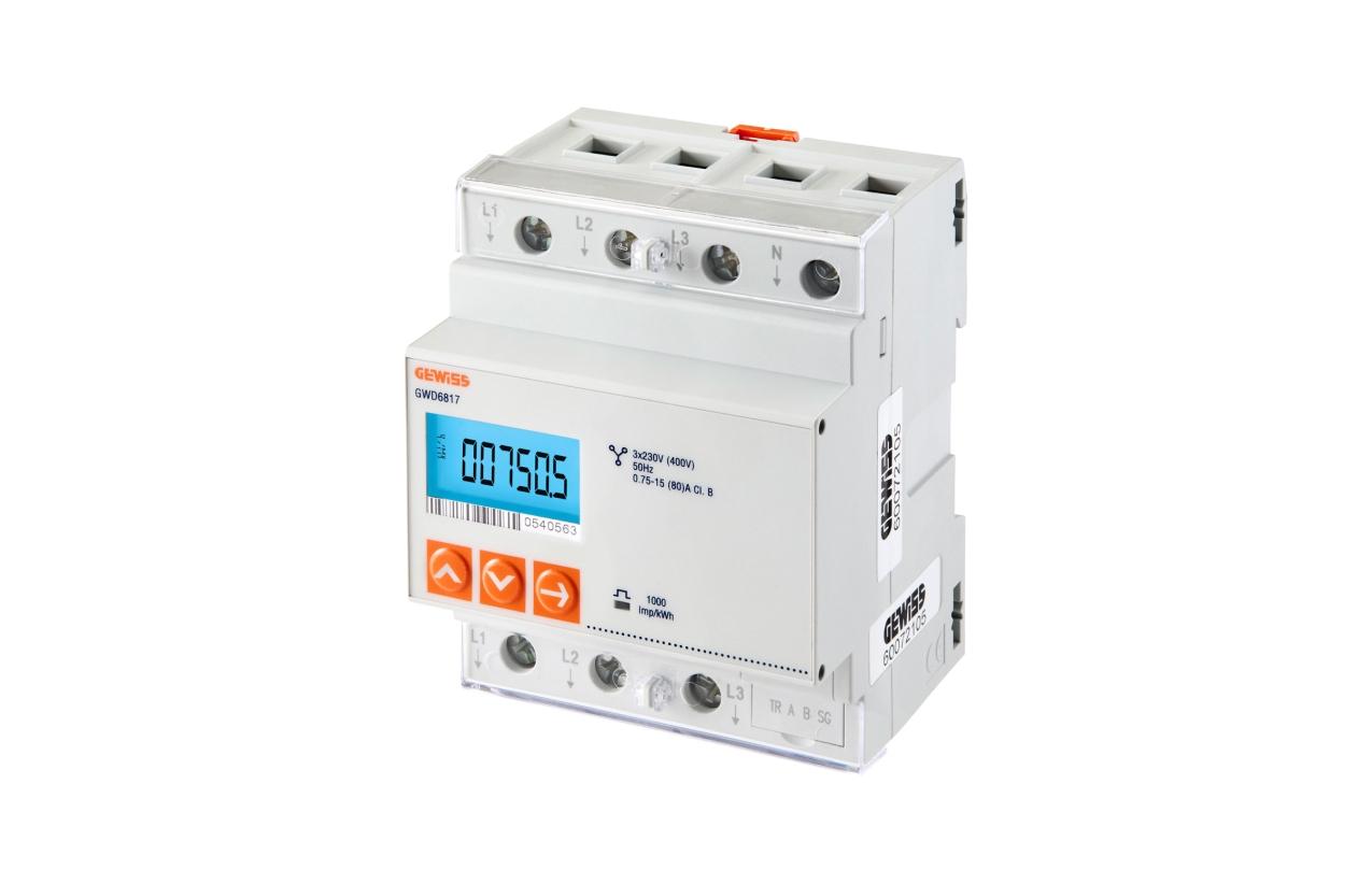 Contador de energia digital trifásico GWD6817