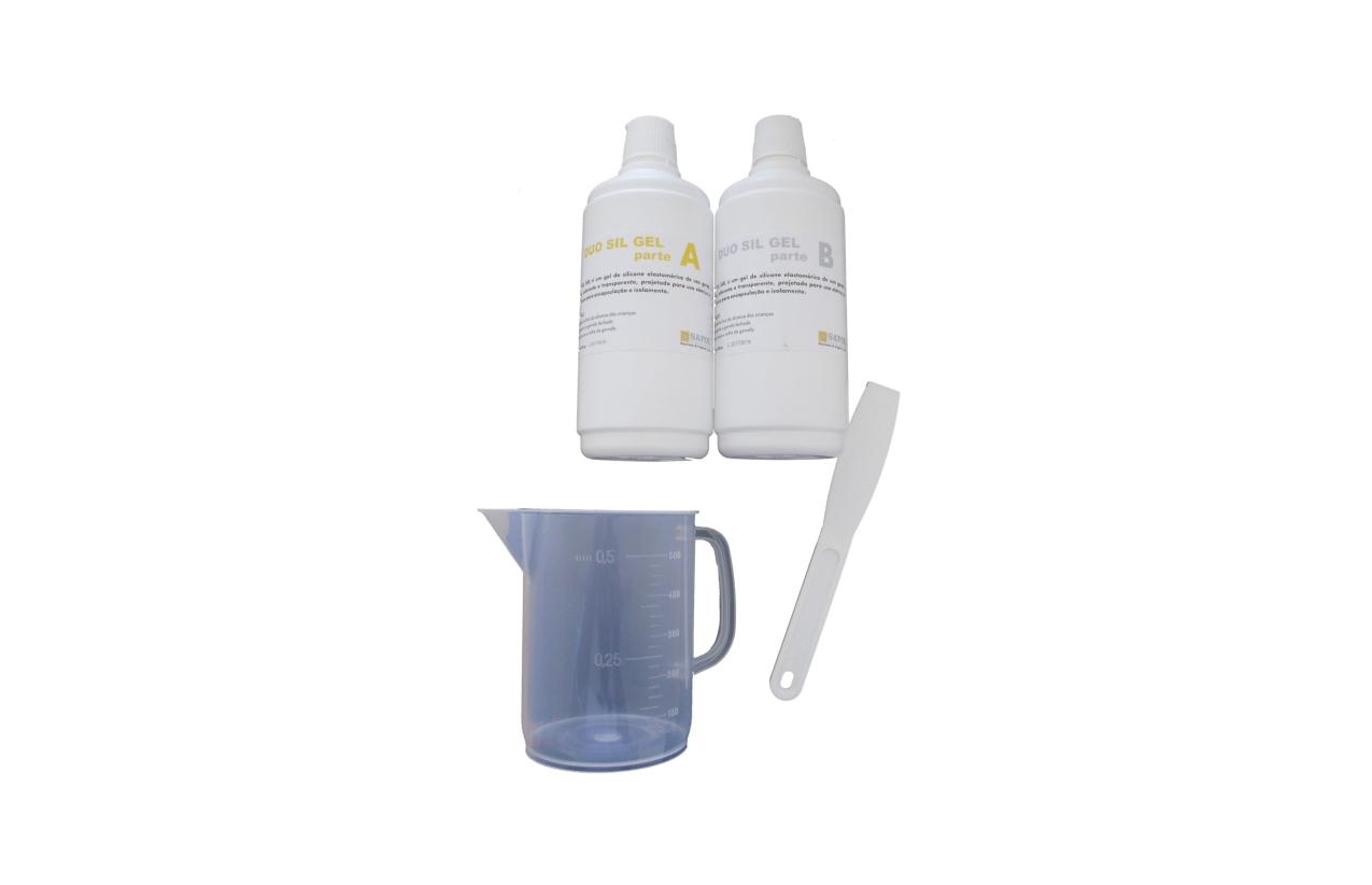 Resina gel para isolamento e encapsulação