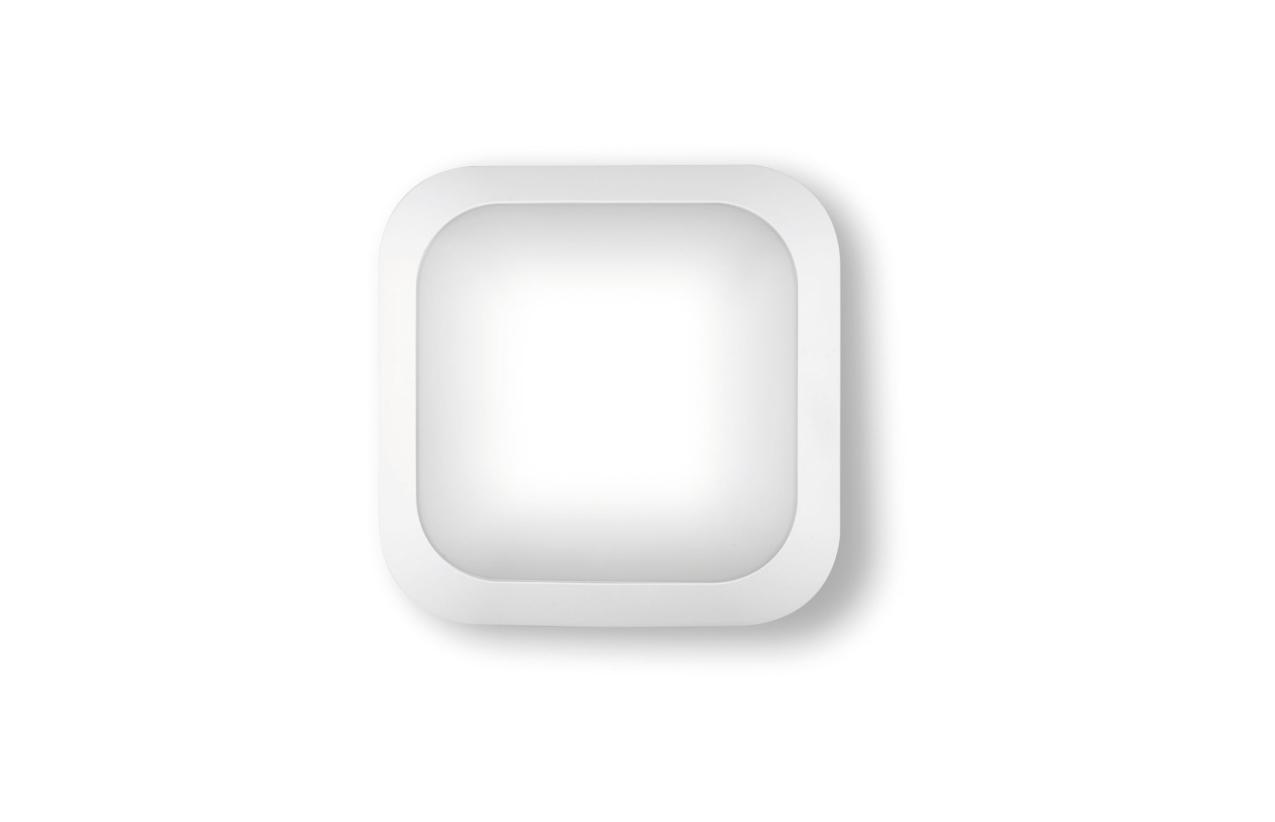 Aplique quadrado IP65 LED 14W branco 8323 LED