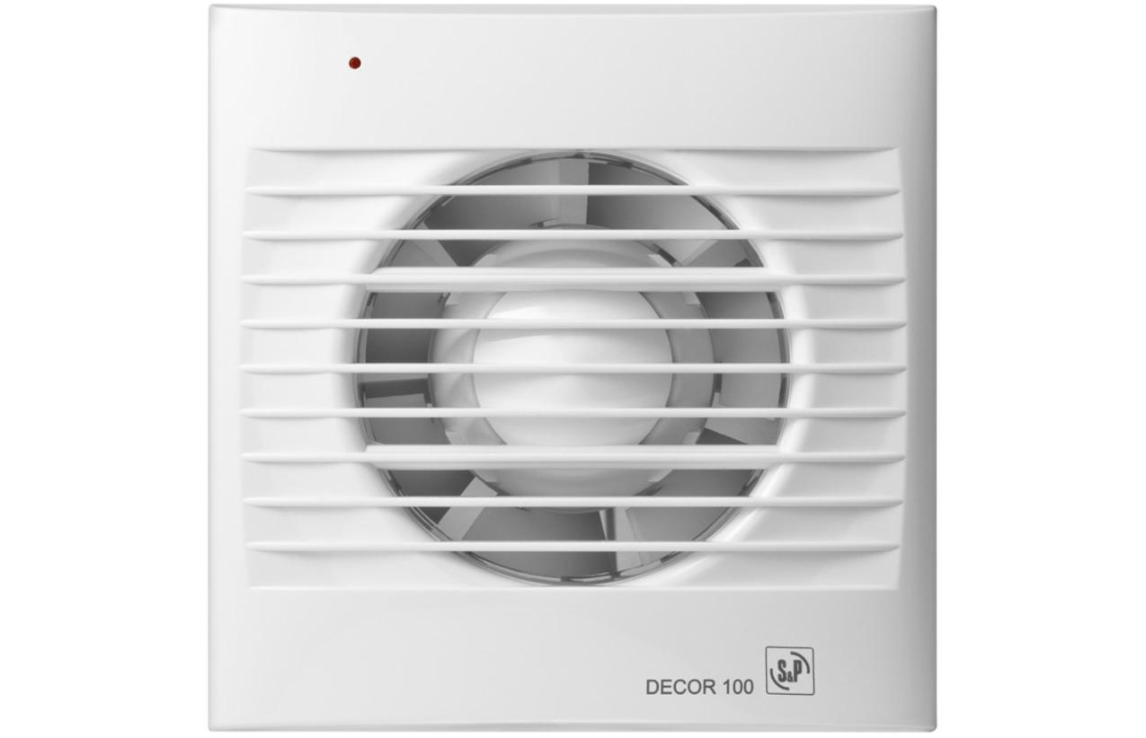 Extrator para casa de banho DECOR 100 C