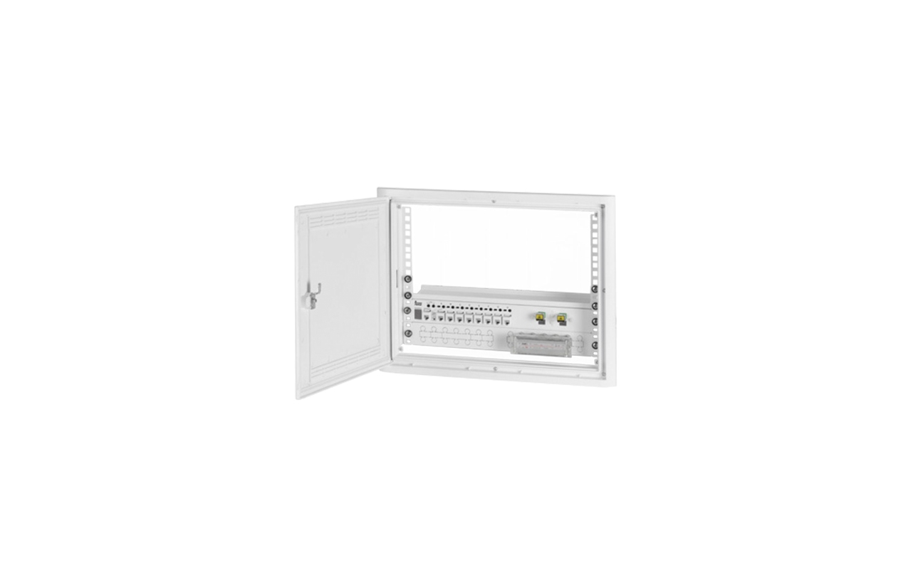Aro/Porta equipado ATI 3play 3U (6PC + 6CC + 2FO) 2901929