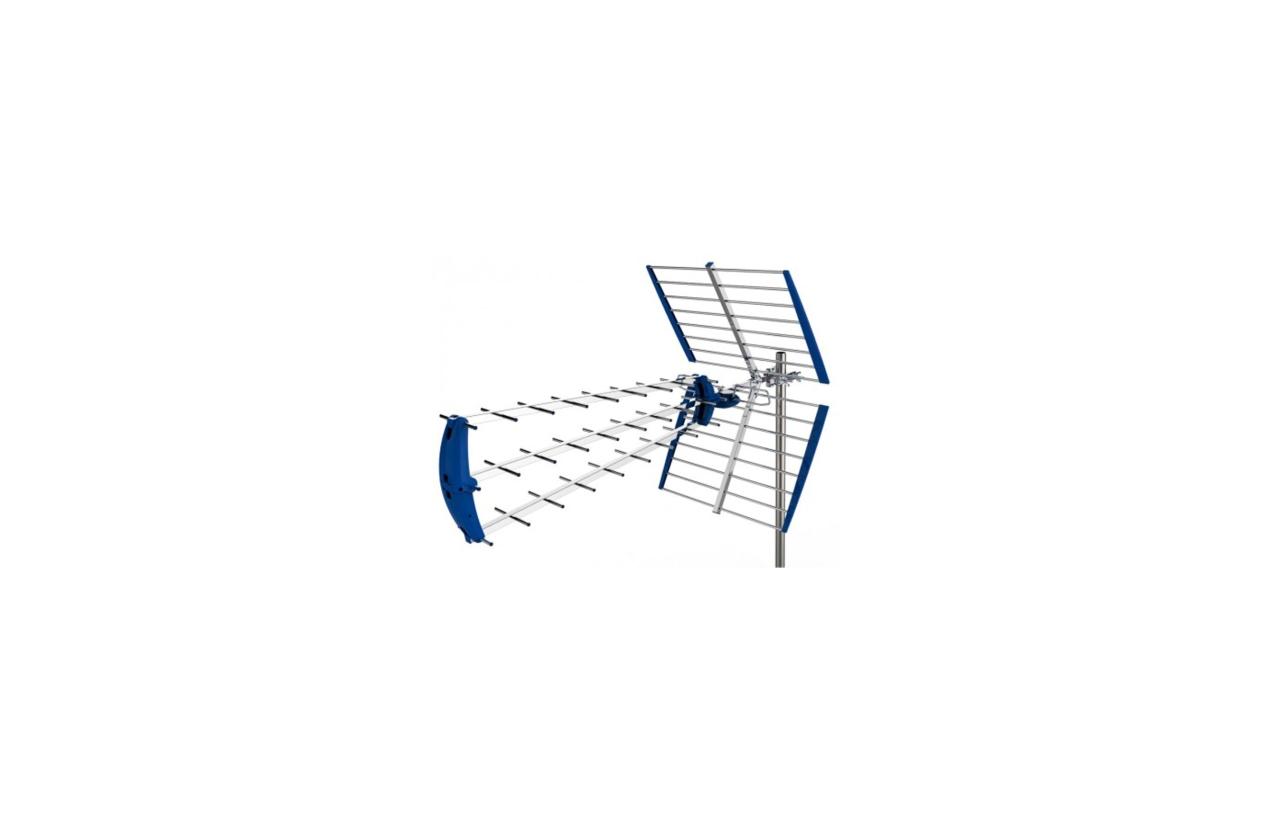 Antena Terrestre Easy UHF 21 /60 angular com LTE