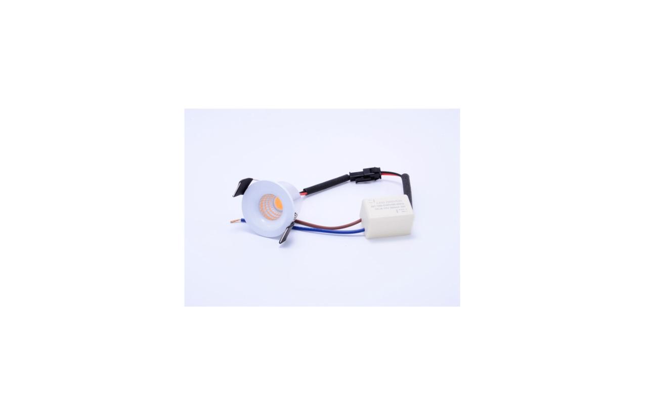 Downlight mini ORION redondo LED 3W 4200K