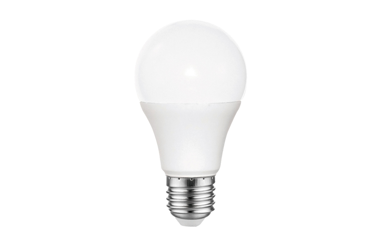 Lâmpada LED Standard A60 E27 9W 6400K